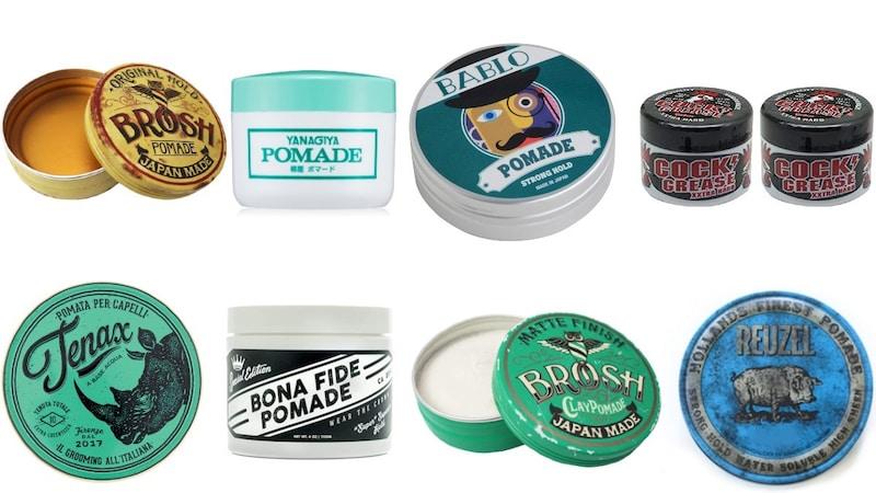 ポマードおすすめランキング20選|ポマードとは?ブロッシュやルーゾーなどの人気商品も!オールバックなどの髪型に!