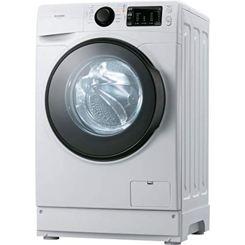 アイリスオーヤマ,ドラム式洗濯機,HD81AR-W
