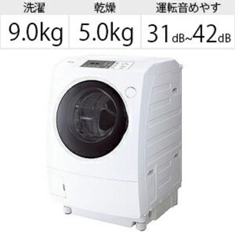 東芝,ドラム式洗濯乾燥機 ZABOON,TW-95G9L