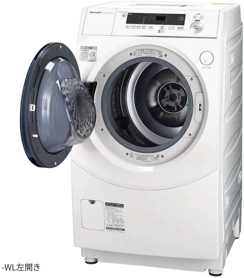 SHARP(シャープ),ドラム式洗濯乾燥機,ES-H10E