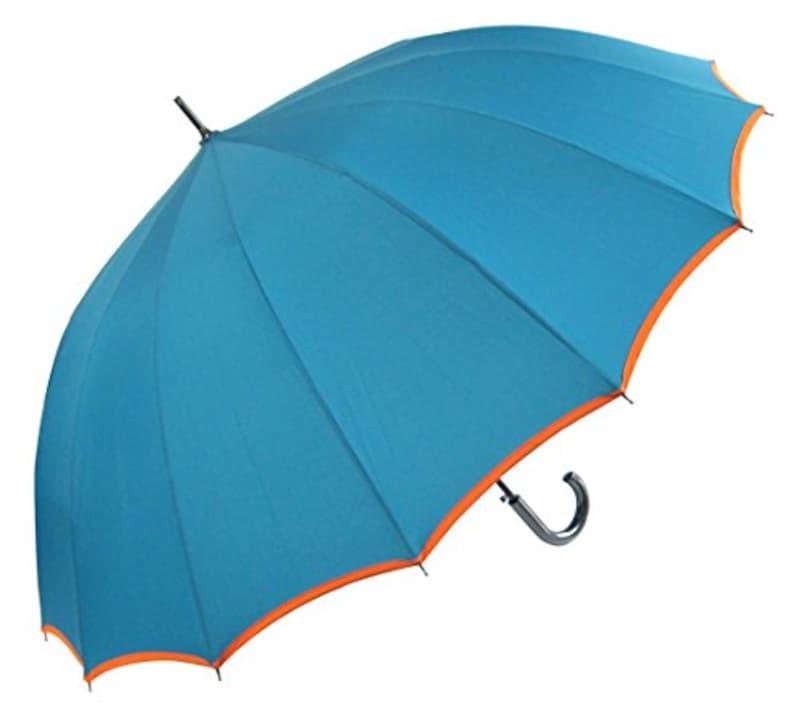 オカモト,風に強い16本骨×グラスファイバー骨仕様傘