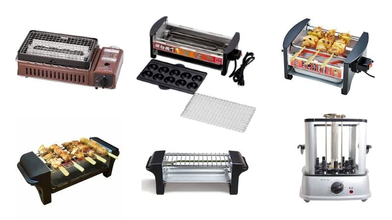 焼き鳥焼き器おすすめ人気ランキング12選|お手軽な家庭用から本格的な業務用まで!