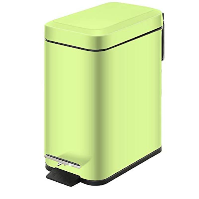 GiniHomer,ペダルペールステンレスゴミ箱