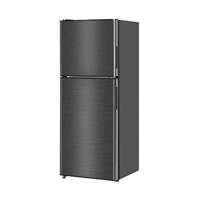 maxzen(マクスゼン),2ドア小型冷蔵庫 138L,JR138ML01GM
