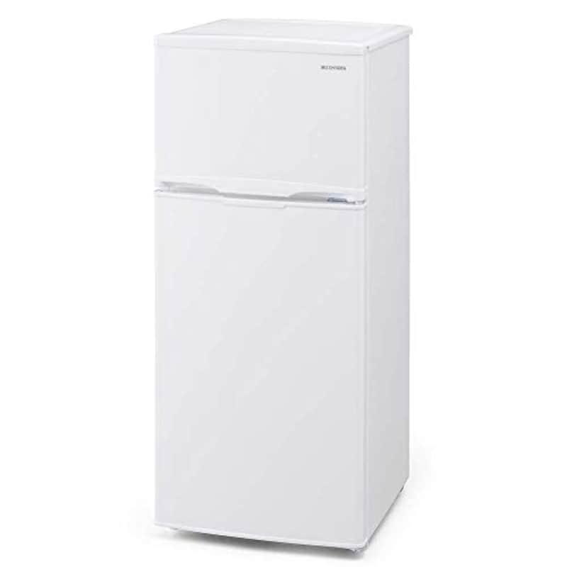 IRIS OHYAMA(アイリスオーヤマ),ノンフロン冷凍冷蔵庫 118L,IRSD-12B-W