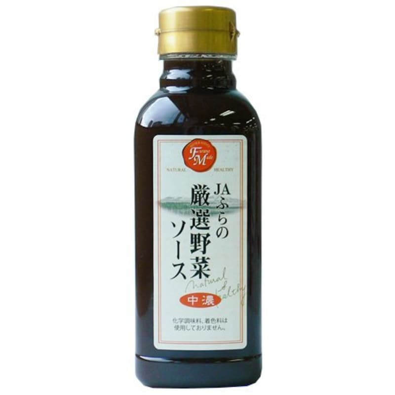 JAふらの 厳選野菜ソース中濃 300ml×10本