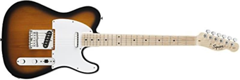 Squier by Fender ,Squier by Fender エレキギター Affinity Series™ Telecaster®, Maple Fingerboard, 2-Color Sunburst,310203550