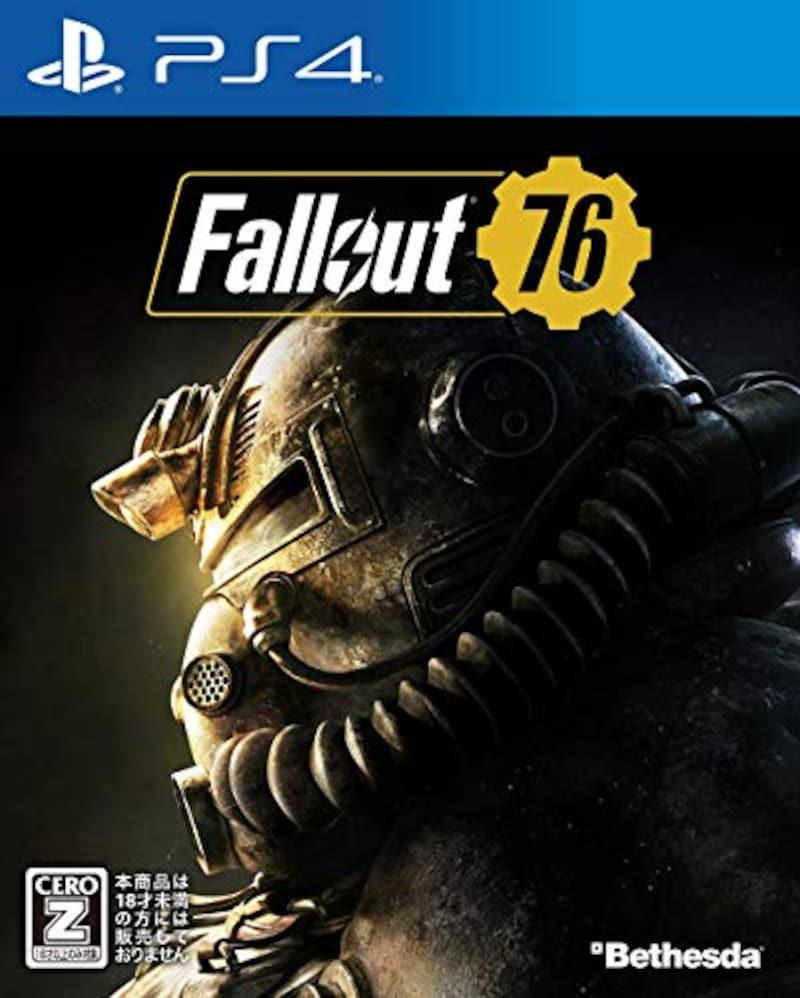ベセスダ・ソフトワークス,Fallout 76【Amazon.co.jp限定】オリジナルPS4用テーマ配信 【CEROレーティング「Z」】