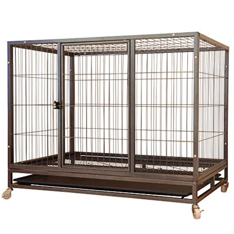 Wisteria,ペットケージ 大型犬 LLサイズ キャスター付き,A307