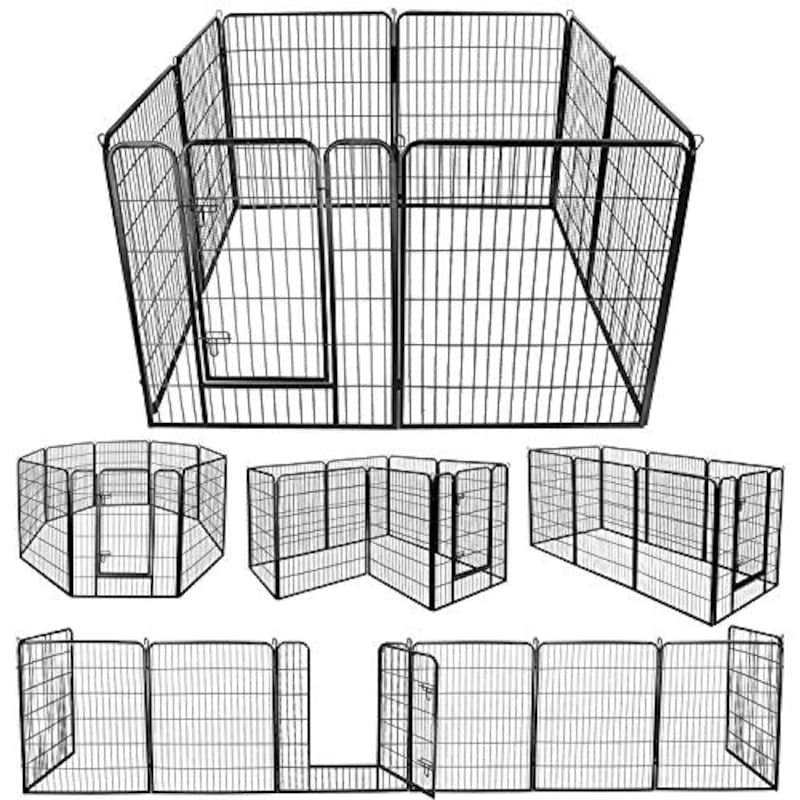 DUDUPET,大型犬用 中型犬用 ペットサークル