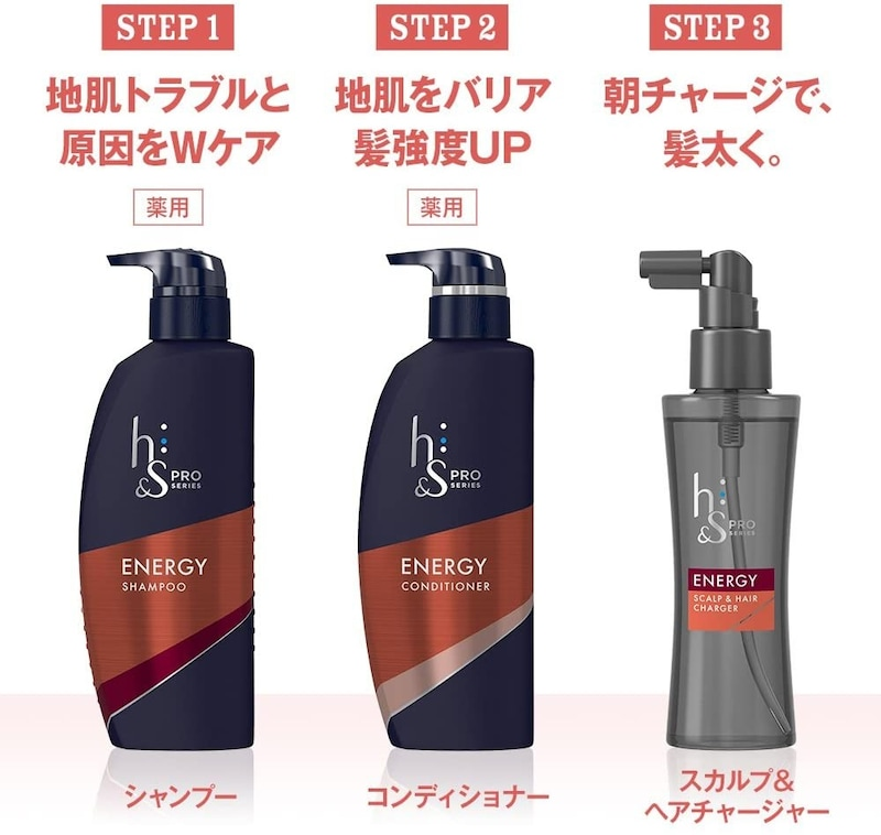 h&s(エイチアンドエス),PRO Series エナジー