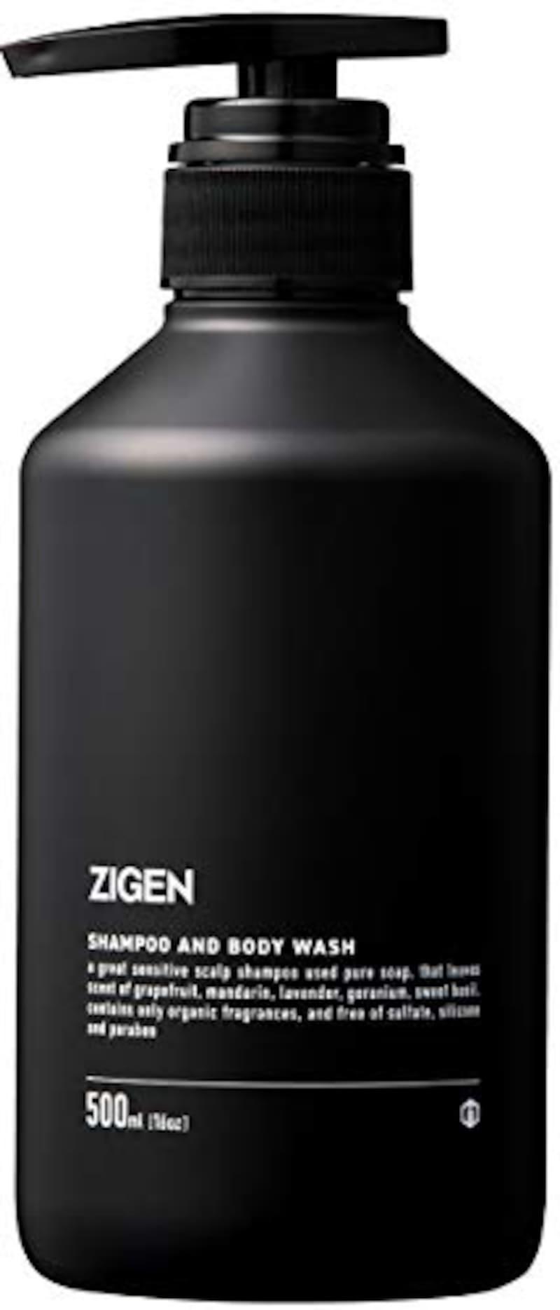 ZIGEN(ジゲン),純石けん 全身シャンプー