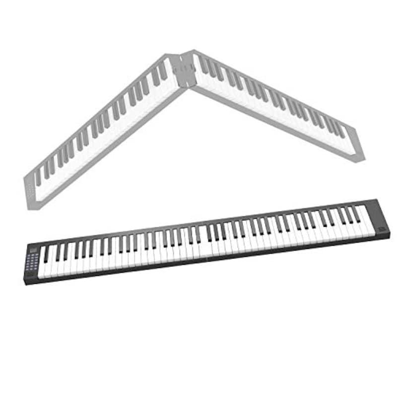 Veetop(ヴィートップ),電子ピアノ 折り畳み式 88鍵盤