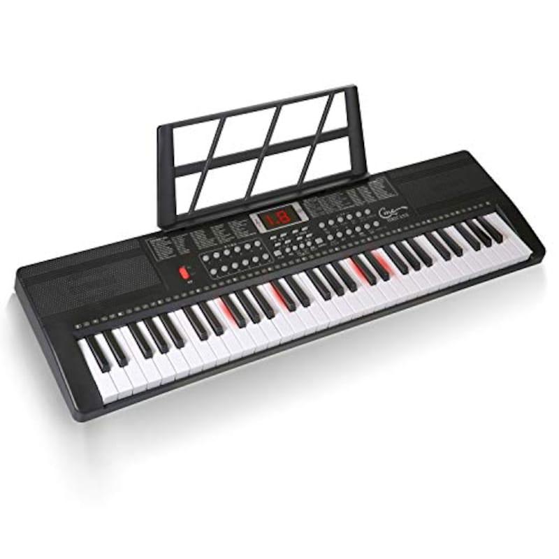 Hricane(ハリケーン),電子キーボード 61鍵盤