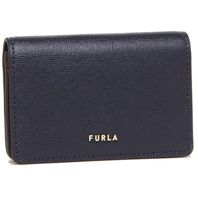 FURLA,名刺入れ レディース ブラック