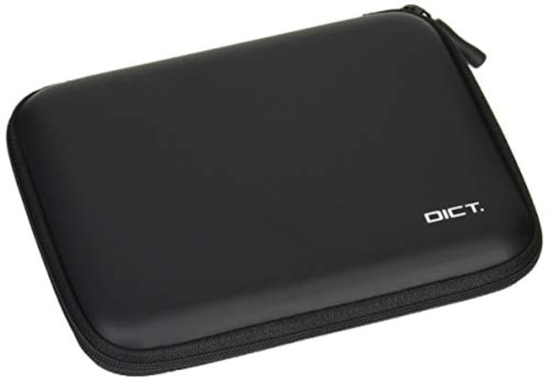 エレコム,電子辞書ケース セミハードタイプ 黒,DJC-003NBK
