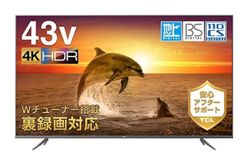 TCL(ティーシーエル),4K液晶テレビ,43K601U