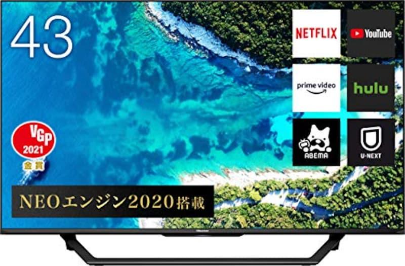 Hisense(ハイセンス),液晶テレビ 2020年モデル,43U7F