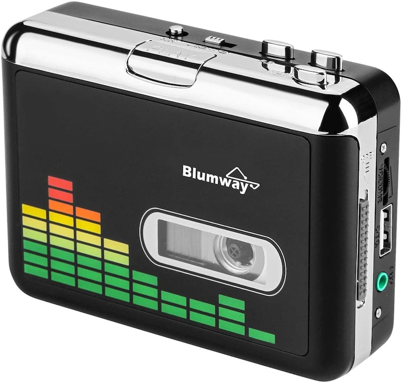 Blumway,高品質カセットテープUSB変換プレーヤー