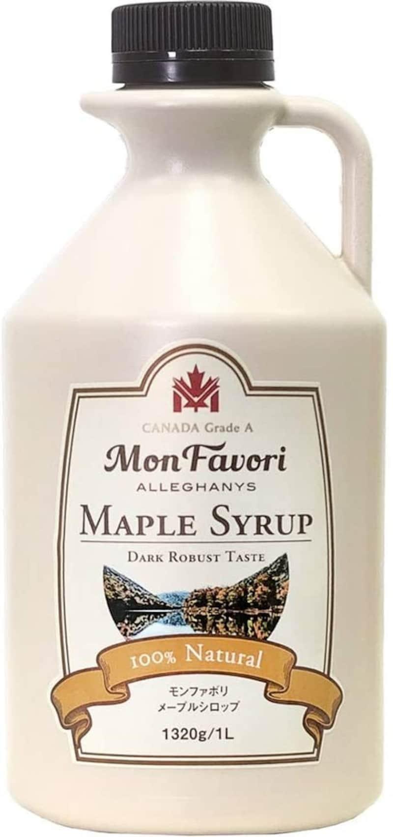 モンファボリ,メープルシロップ  ダークロバストテイスト