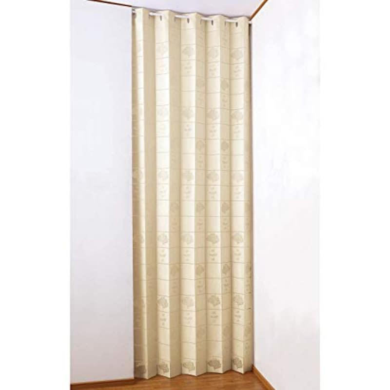 Comolife(コモライフ),アコーディオン式の間仕切りカーテン