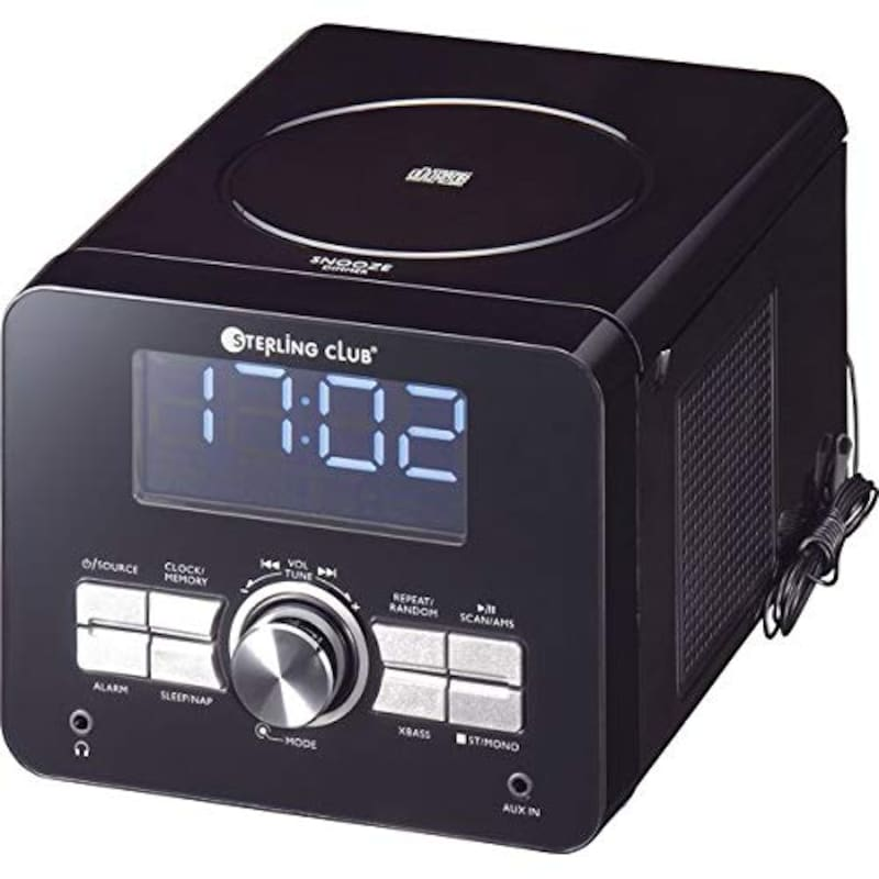 SOWA,スターリングクラブ CDFMクロックラジオ 6960