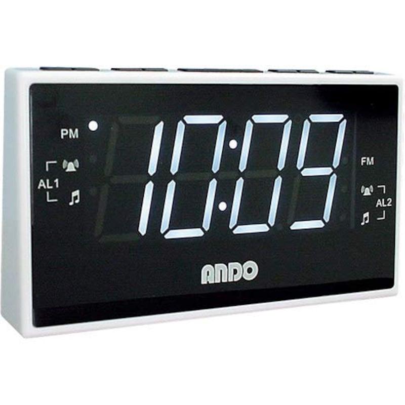 アンドインターナショナル,見やすい クロックラジオ,RK14-895PZ