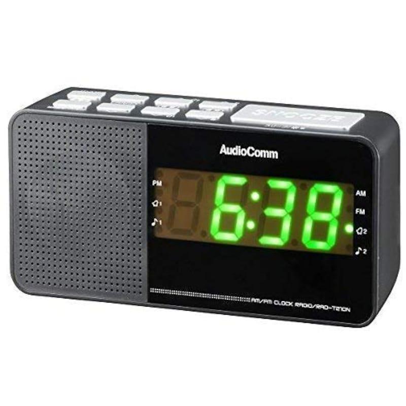 オーム電機,クロックラジオ,RAD-T210N