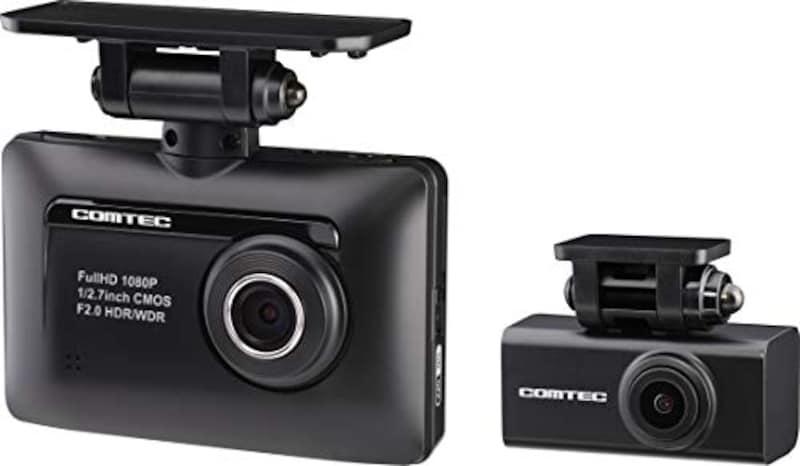 コムテック,前後2カメラ ドライブレコーダー,ZDR-015