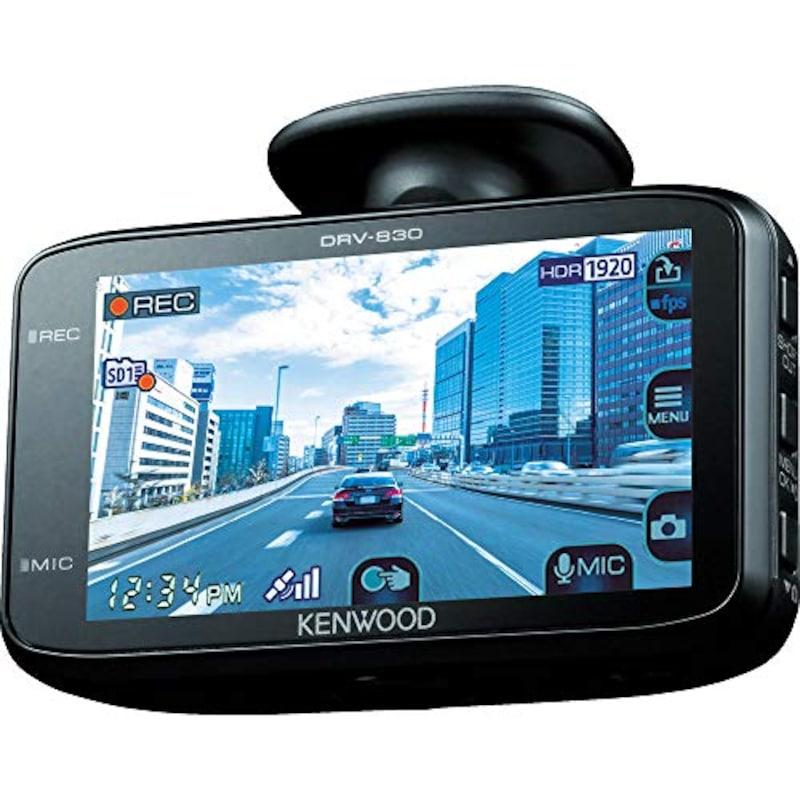 ケンウッド,WideQuad-HD ドライブレコーダー,DRV-830