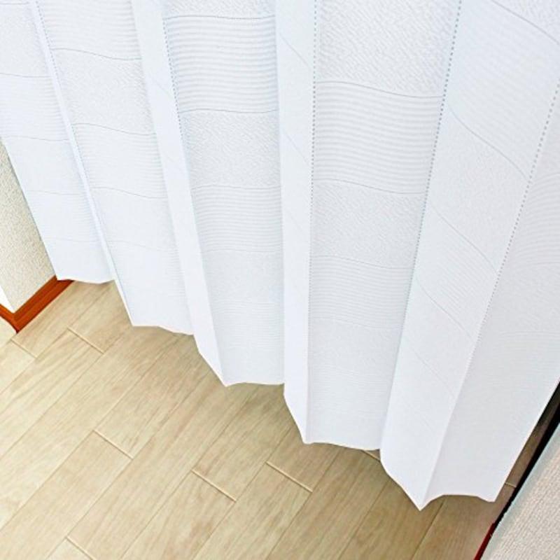 窓美人,Patarico(パタリコ),pata-curtain-plain-WH