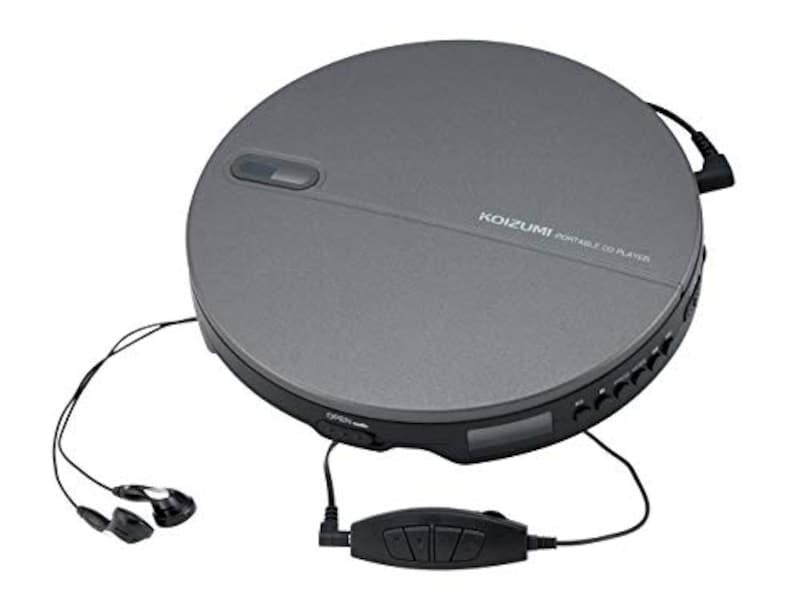 コイズミ,ポータブルCDプレーヤー,SAD-3903/K