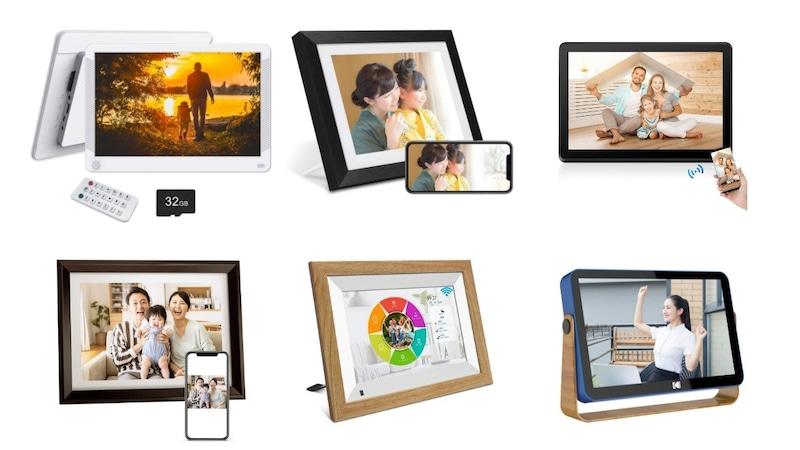 デジタルフォトフレームのおすすめランキング28選|WiFi・クラウド対応や動画再生できる人気製品も!