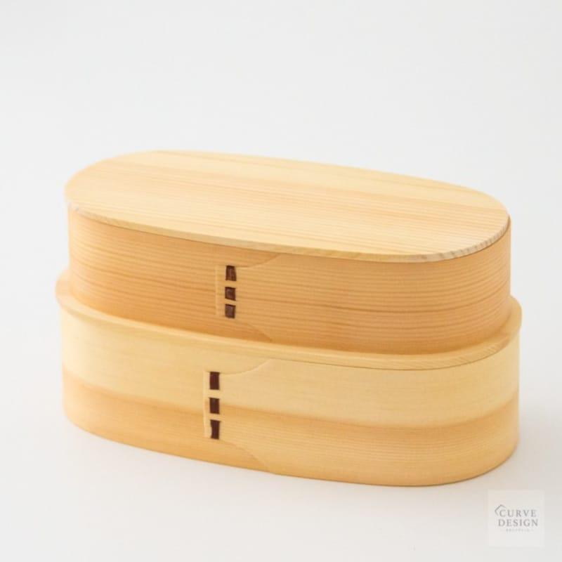 CURVE DESIGN(カーブデザイン),曲げわっぱ弁当箱