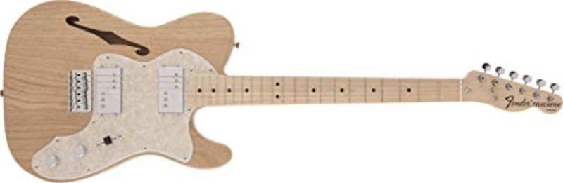 Fender, MIJ Traditional '70s Telecaster® Thinline Maple Fingerboard, Natural
