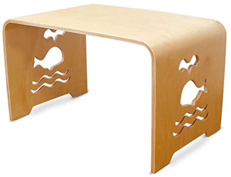 MAMENCHI,大きめな子供用木製テーブル