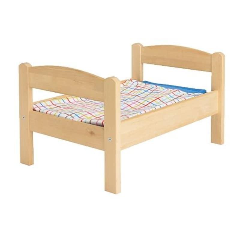 IKEA,人形用ベッドリネンセット付き,20167838