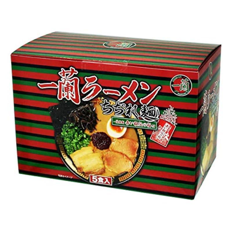 一蘭,一蘭ラーメンちぢれ麺 特製赤い秘伝の粉付き