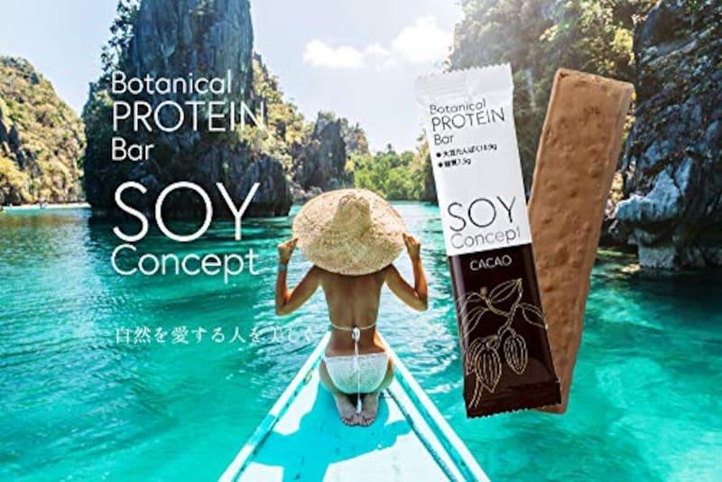 SOY Concept,ボタニカルプロテインバー 植物性大豆プロテイン(12本入り)