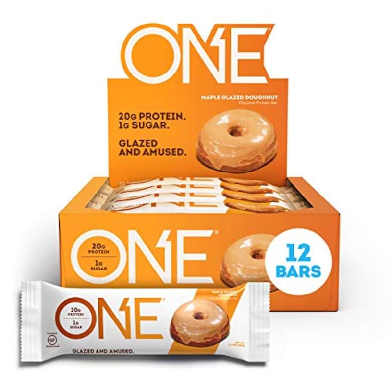 One Brands,Oh yeah! Oneプロテインバー maple grazed doughnut