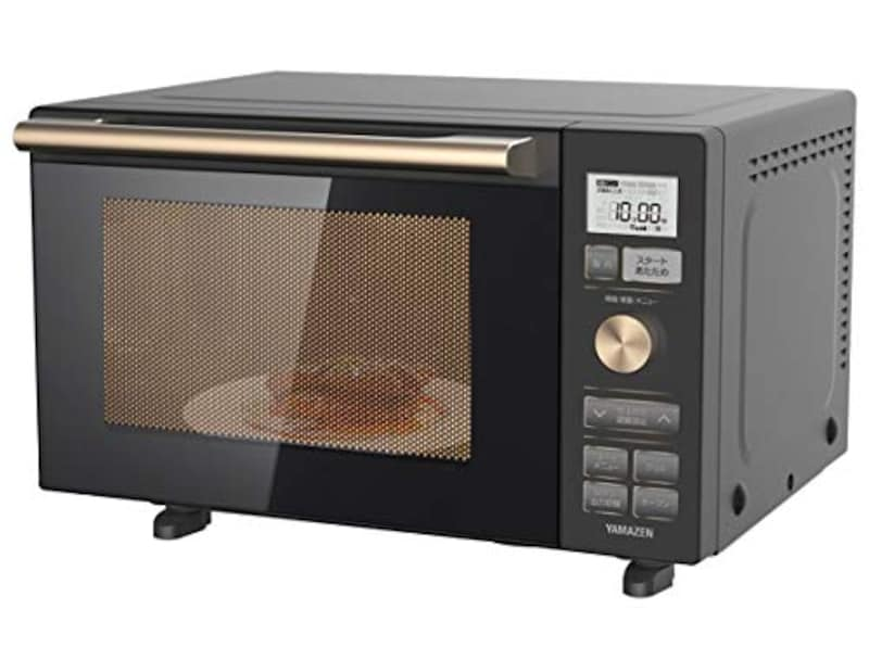 山善(YAMAZEN),フラットテーブル ヘルツフリー オーブンレンジ,YRP-F180V(B)
