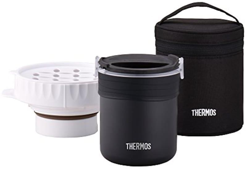 サーモス(THERMOS),ごはんが炊ける弁当箱,JBS-360 BK