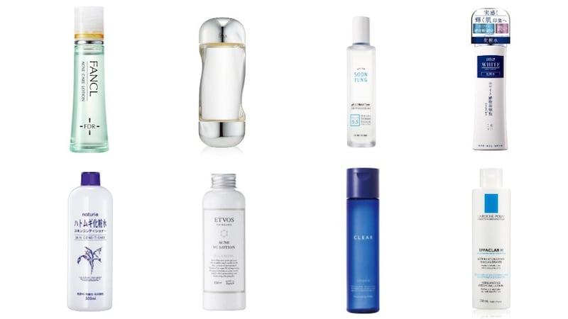 ニキビ化粧水のおすすめ人気ランキング34選|市販で購入できるものも