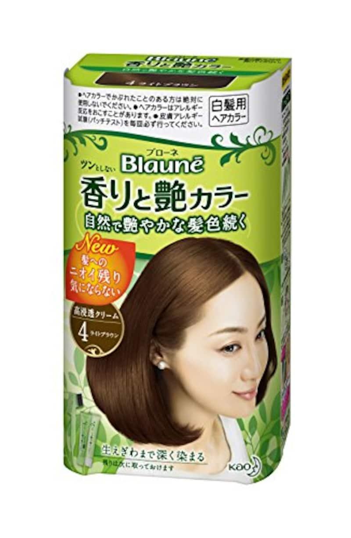 Kao(花王),Blaune(ブローネ) ツンとしない香りと艶カラークリーム
