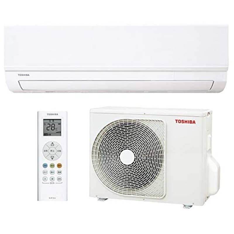 TOSHIBA(東芝),シンプル&快適エアコン TMシリーズ,RAS-2210TM-W
