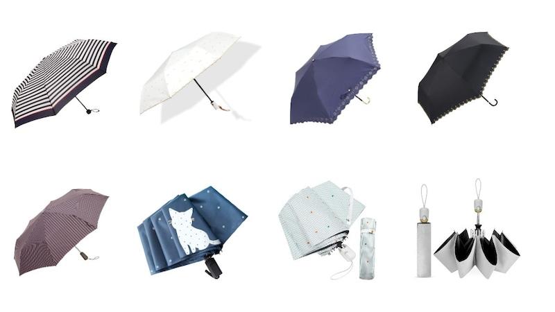 レディース折りたたみ傘おすすめ16選|自動開閉、軽量、人気ブランドの商品など紹介