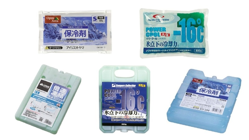 保冷剤おすすめ人気ランキング18選|キャンプや釣りにも!長時間使える種類も紹介!