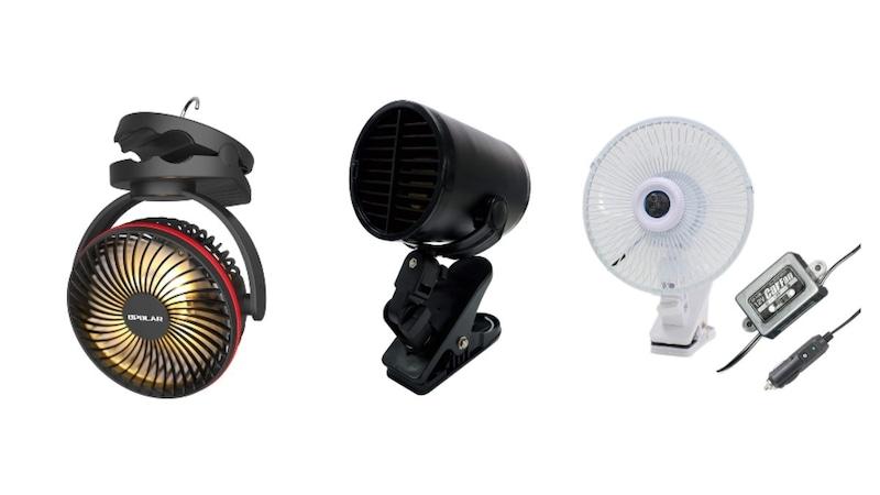 車用扇風機おすすめ人気ランキング15選 車内を快適に!取り付け方法や充電式、USBタイプも紹介!
