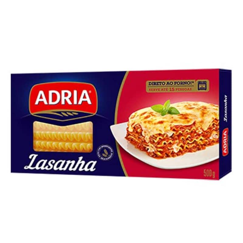 Adria(アドリア),ラザニア用パスタ 500g