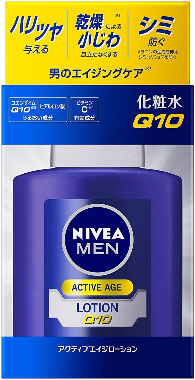 NIVEA MEN(ニベアメン),アクティブエイジローションQ10